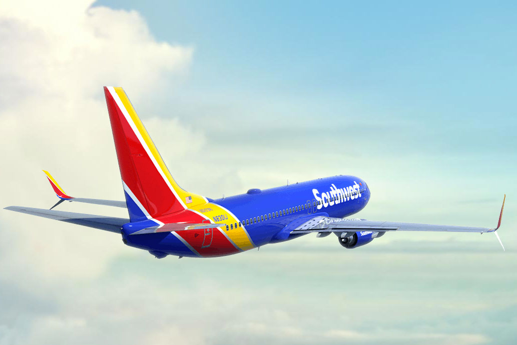 southwest airlines a A passenger on board a southwest airlines plane was killed after its left engine failed, damaging the fuselage and forcing an emergency landing in philadelphia.