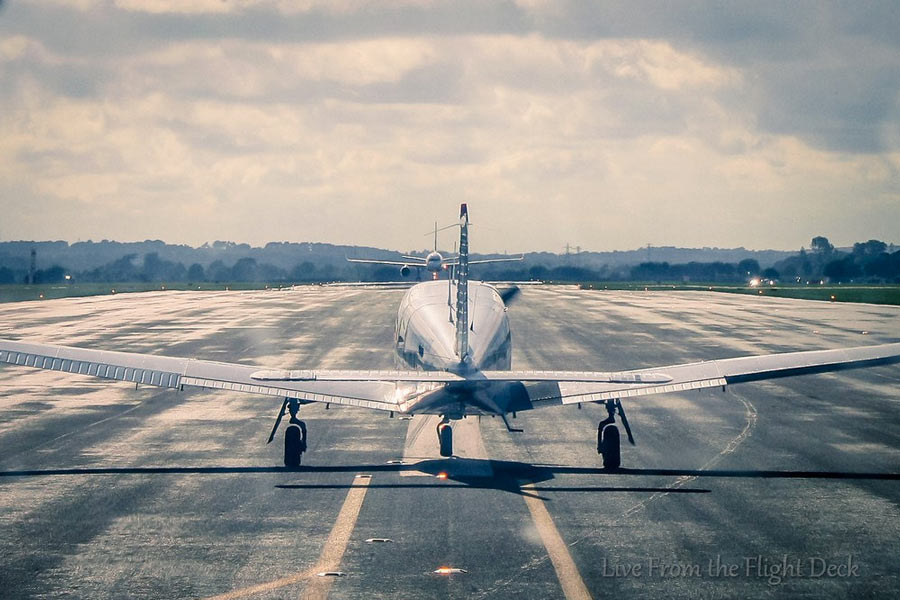 There S Another Airplane On The Runway Can I Land Boldmethod