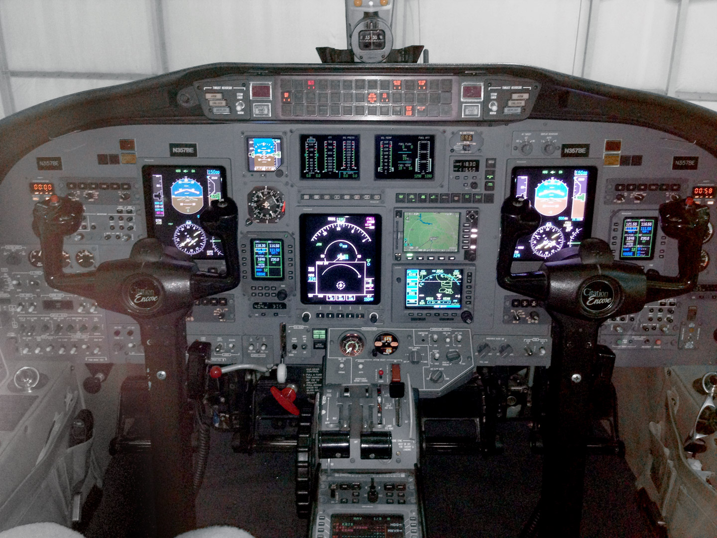 Citation Cockpit 2