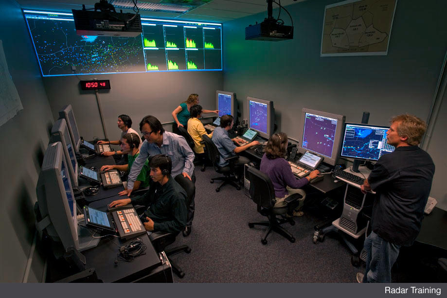 while newly hired controllers may have had previous training and experience somewhere else they all start from the beginning at the artcc radar training