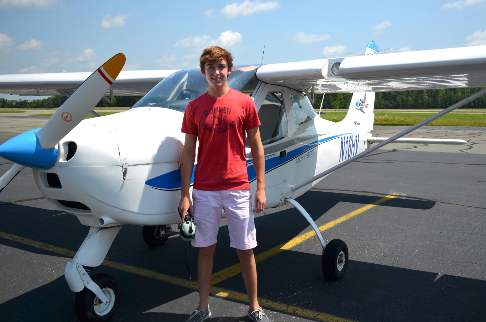 Swayne Martin - First Solo XC