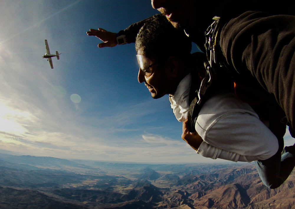 Aviation Careers: Jeremiah Johnson, Skydive Jump Pilot