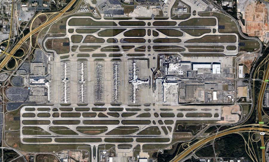 9 Us Airports With The Most Runways Boldmethod