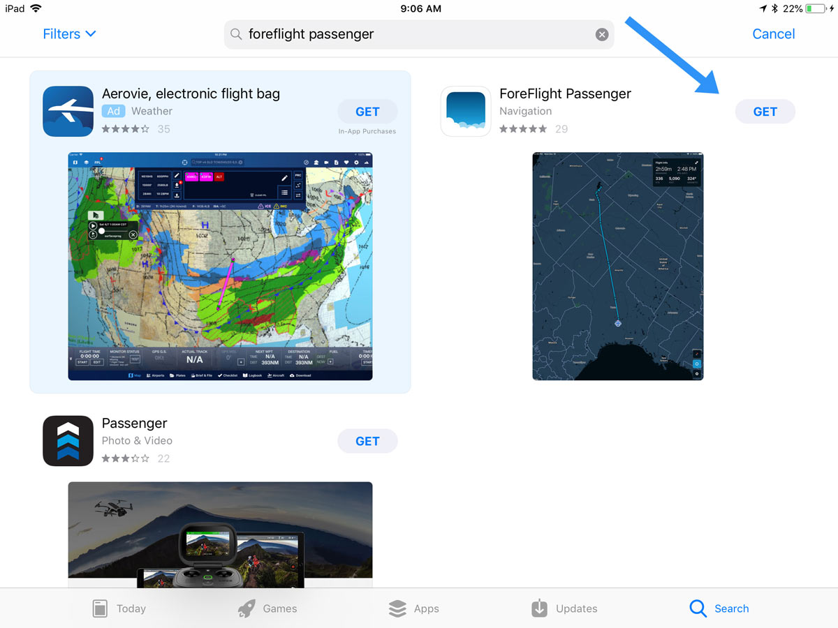 8813bff2288 Your Step-By-Step Guide To Using ForeFlight s New Passenger App ...