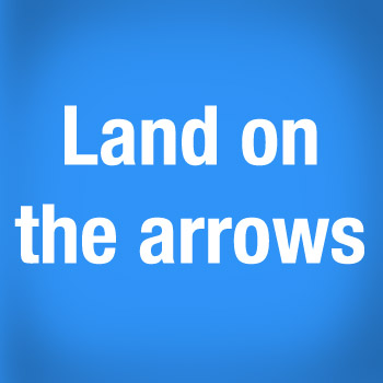 3 - Land On Arrows