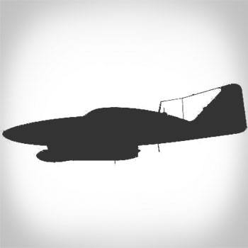 Silhouette ME-262