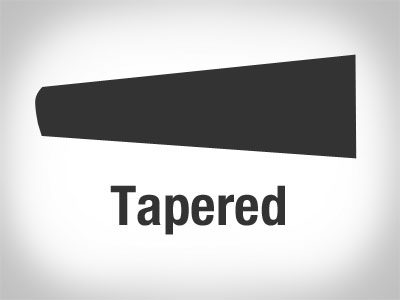 a-tapered