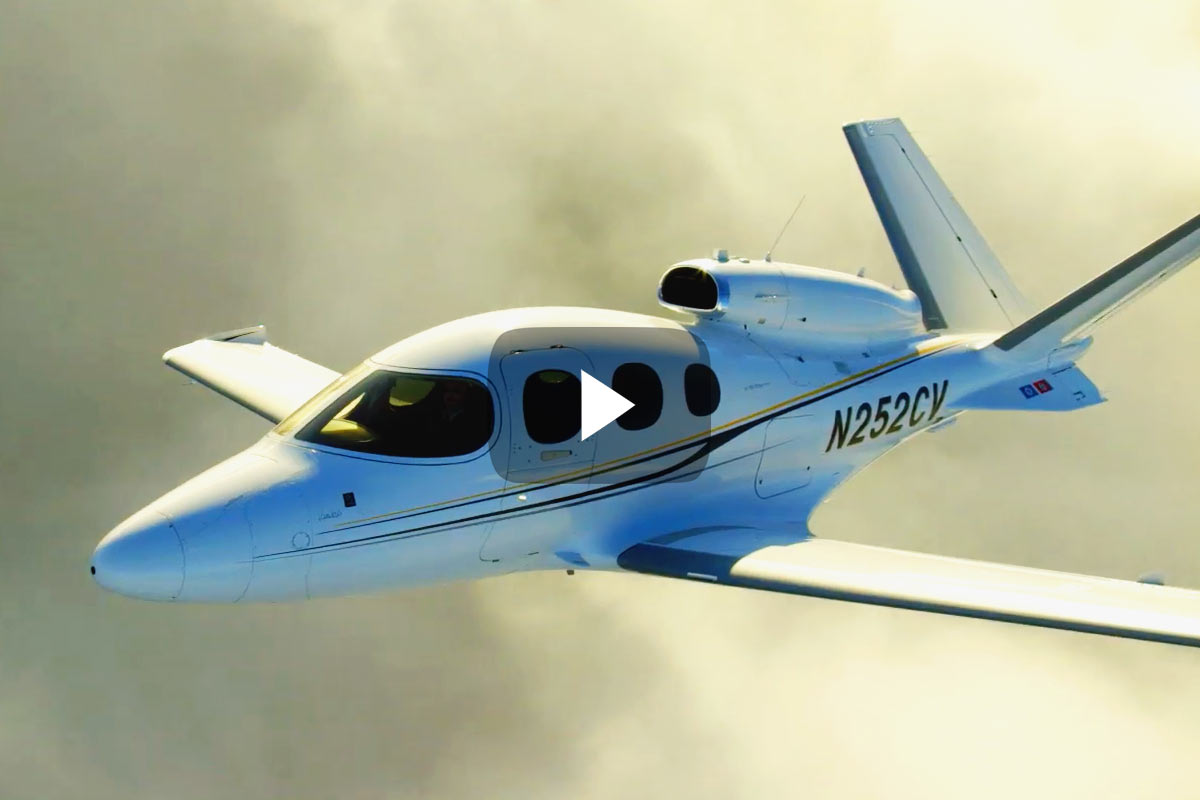 coming to an airport near you  the cirrus vision jet