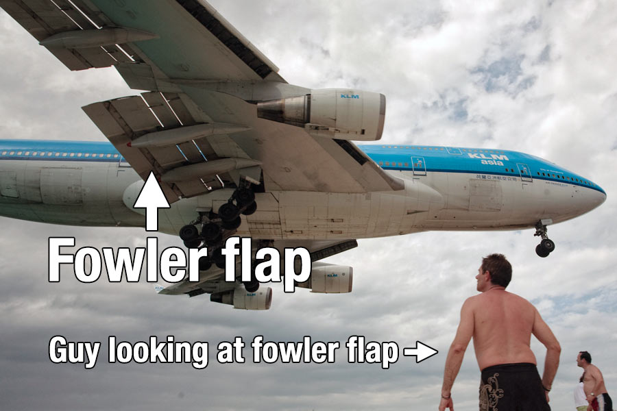 How The 4 Types Of Aircraft Flaps Work | Boldmethod