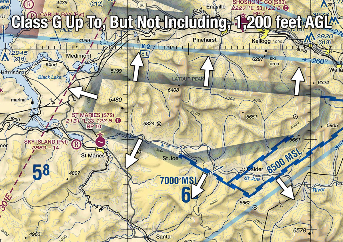 Airspace map design to implement customer-friendly service on ...