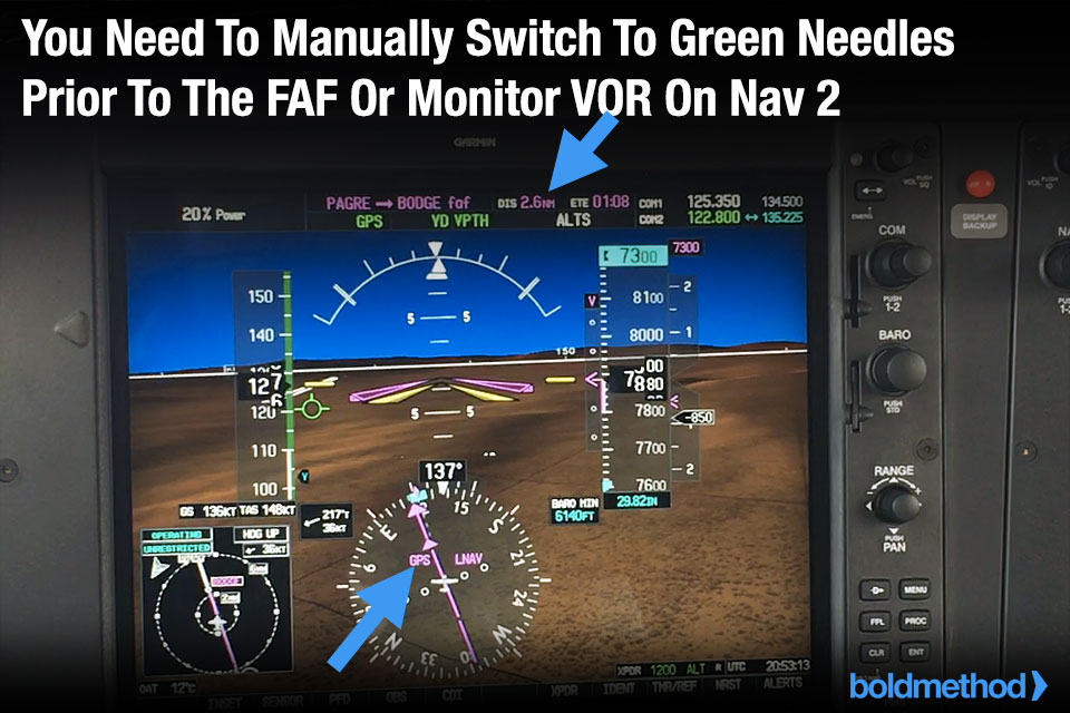 3 Ways A G1000 Can Leave You Totally Confused On An Approach