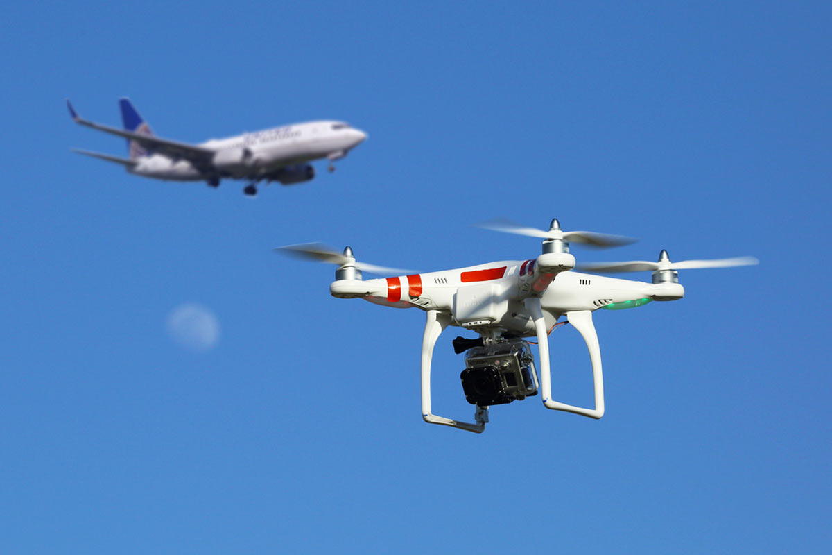 Pilot Reports Of Drone Encounters Have Increased 1,220% ...